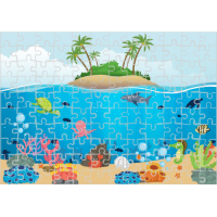 Puzzle Animale marine