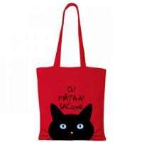 Sacosa de cumparaturi Pisica neagra