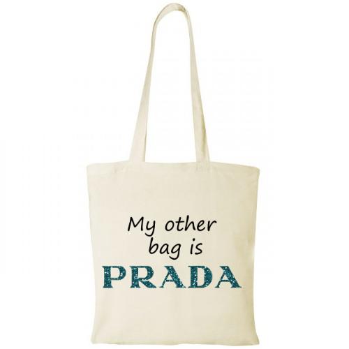 Sacosa My other bag is Prada