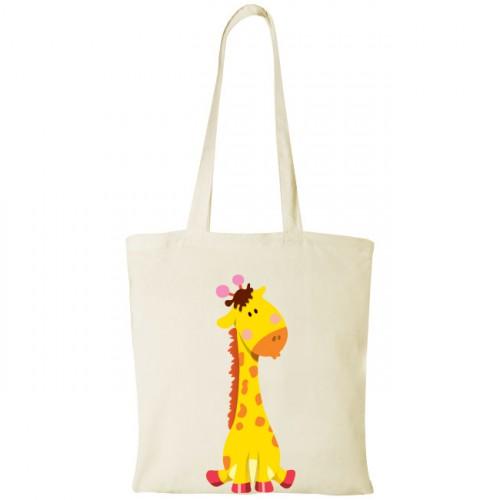 Sacosa de cumparaturi Girafa