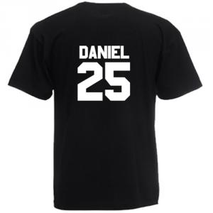 Tricou Personalizat cu numar si nume