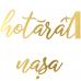 Tricou S-au hotarat - Nasa