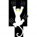 Perna Pisica in alunecare