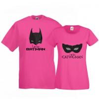 Tricouri pentru cuplu Catwoman - Batman