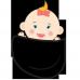 Tricou Bebe in buzunar