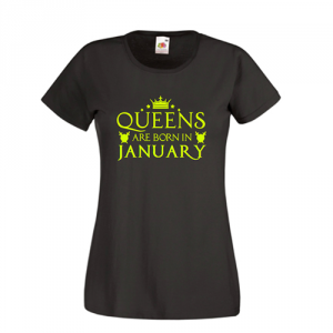 Tricou personalizat Queens are born in