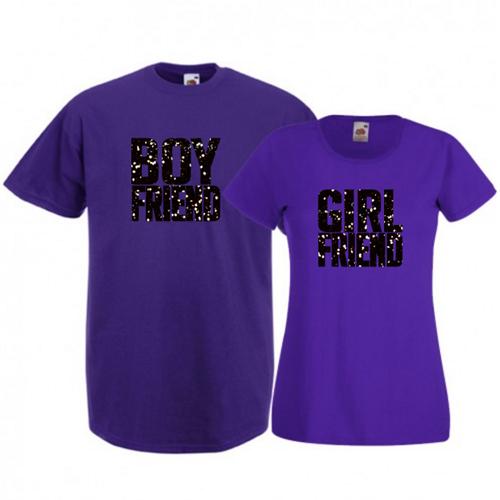 Tricouri pentru cuplu Boyfriend - Girlfriend