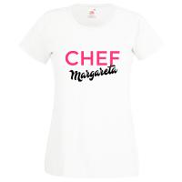 Chef (cu textul dvs.)