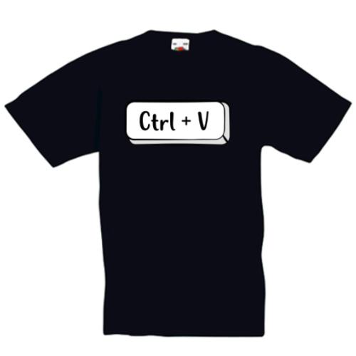 Tricou personalizat Control V