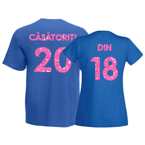 Tricouri pentru cuplu Casatoriti din