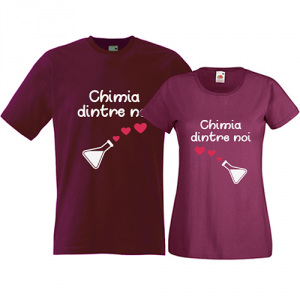 Tricouri pentru cuplu Chimia