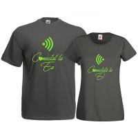 Tricouri pentru cuplu Conectati