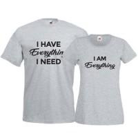 Tricouri pentru cuplu Everything