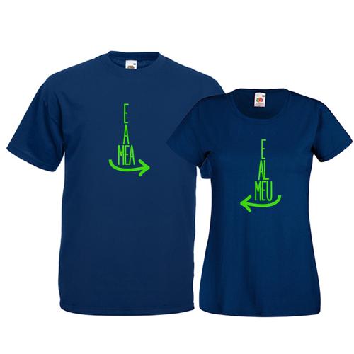 Tricouri pentru cuplu E al meu - E a mea