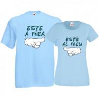 Tricouri pentru cuplu Este al meu - Este a mea