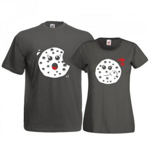 Tricouri pentru cuplu Fursecuri