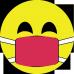 Smiley cu masca