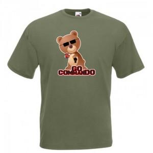 Tricou Go Commando