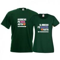 Tricouri pentru cuplu Il iubesc - O iubesc