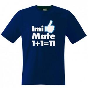 Tricou Imi place matematica