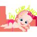 Tricou bebe fetita - in curand
