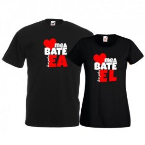 Tricouri pentru cuplu Inima mea