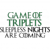 Tricou Game of Triplets