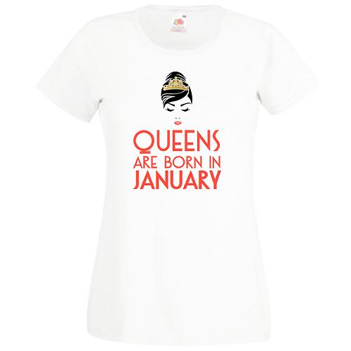 Queens are born in