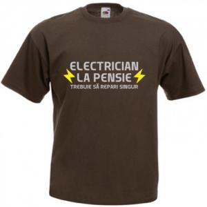 Electrician la pensie