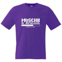 Tricou Muschii se instaleaza