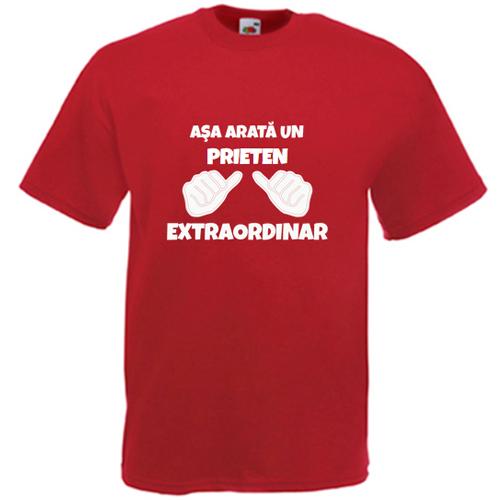 Tricou personalizat Asa arata un (textul tau) extraordinar