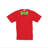 Tricou cu papion pentru baieti