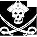 Tricou Pirat cu sabii