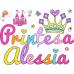 Tricou personalizat Printesa
