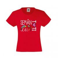 Tricou Seman cu tati pentru fetite