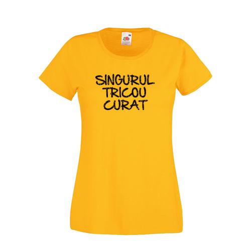 Tricou amuzant Singurul tricou curat