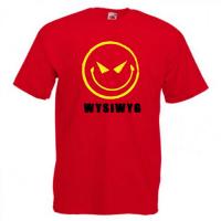 Tricou personalizat Smiley malefic