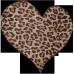 Tricou Inima de leopard