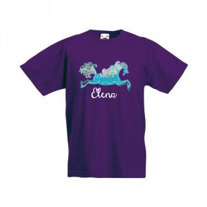 Tricou Unicorn (cu numele fetitei)