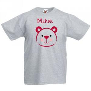 Tricou personalizat Fata de urs