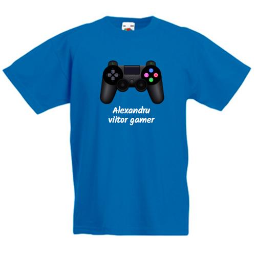 Tricou personalizabil Viitor gamer