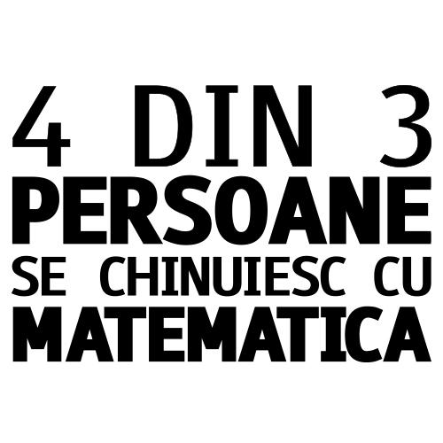 Sacosa despre matematica