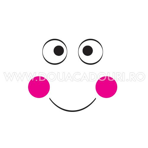 Sacosa de cumparaturi Smiley
