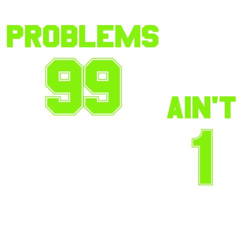 Tricouri pentru cuplu 99 Problems