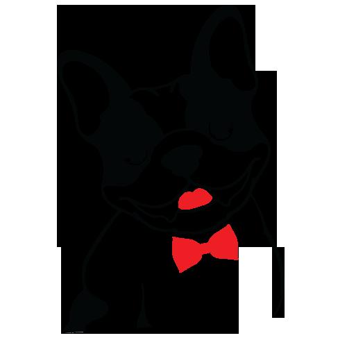 Bulldog francez cu papion