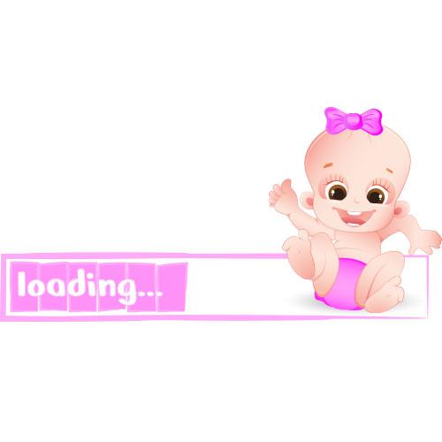 Tricou Bebe fetita (loading)