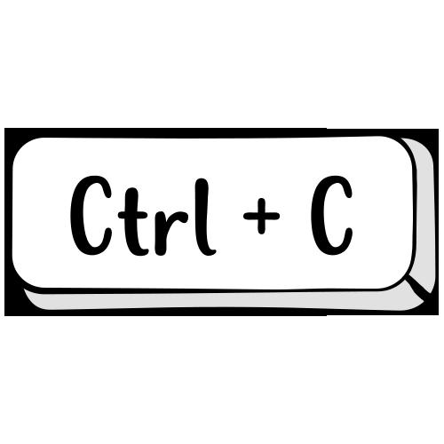 Tricou personalizat Control C