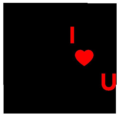 I love you - alfabet