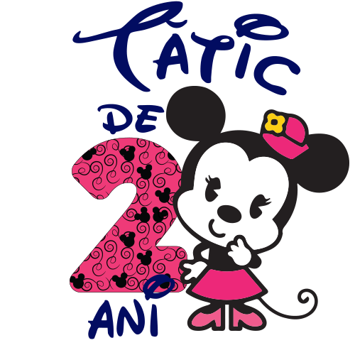 Tatic de 2 ani Minnie